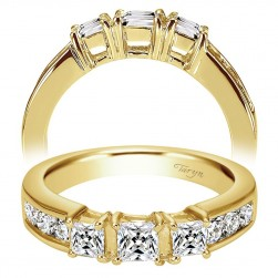 Taryn 14 Karat Yellow Gold Straight Wedding Band TW3677Y44JJ