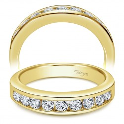 Taryn 14 Karat Yellow Gold Straight Wedding Band TW3962Y44JJ