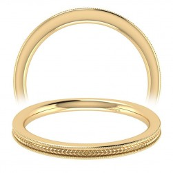 Taryn 14 Karat Yellow Gold Straight Wedding Band TW7222Y4JJJ