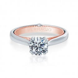 Verragio Couture-0418R-TT 18 Karat Engagement Ring