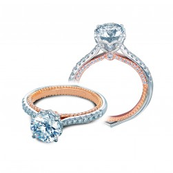 Verragio Couture-0456RD-2WR 14 Karat Engagement Ring