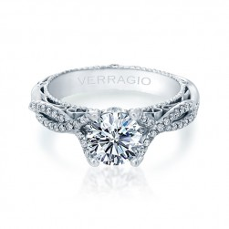 Verragio Venetian-5003R Platinum Engagement Ring