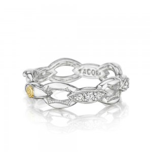 SR184 Tacori Ivy Lane Silver & Gold Ring