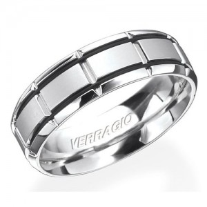 Verragio 18 Karat In-Gauge Wedding Band RU-7005