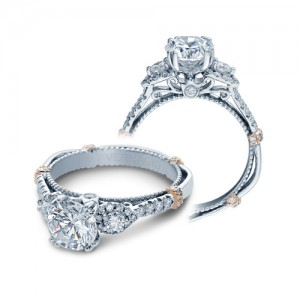 Verragio Parisian-DL128 Platinum Engagement Ring