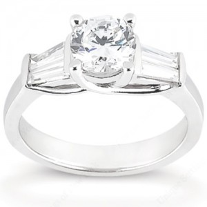 Taryn Collection 14 Karat Diamond Engagement Ring TQD 864
