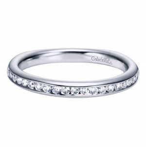 Gabriel 14 Karat Contemporary Wedding Band WB6639W44JJ