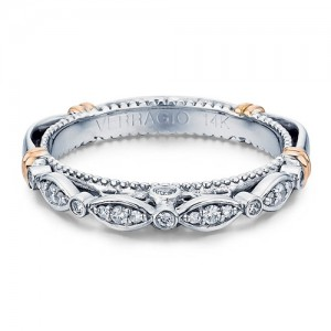 Verragio Parisian-100W Platinum Wedding Ring / Band
