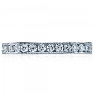 Tacori 2636BRDLG 18 Karat Simply Tacori Diamond Wedding Band