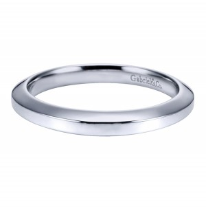 Gabriel Platinum Victorian Wedding Band WB6611PTJJJ