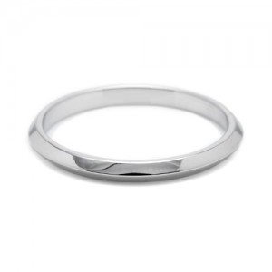 Tacori 2520HP Platinum Wedding Band