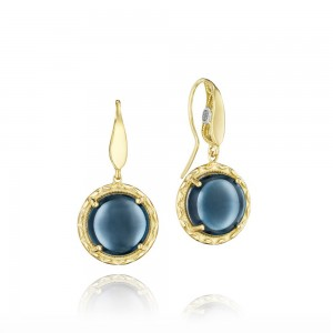 SE188Y37 Tacori Golden Bay Gold Earrings