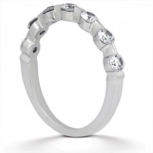 Taryn Collection Platinum Wedding Ring TQD B-0751