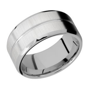 Lashbrook 10B11U Titanium Wedding Ring or Band