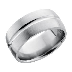 Lashbrook 10DC Titanium Wedding Ring or Band