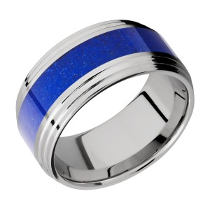 Lashbrook 10F2S15/MOSAIC Titanium Wedding Ring or Band