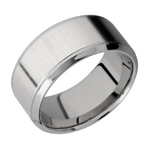 Lashbrook 10HB2UMIL Titanium Wedding Ring or Band