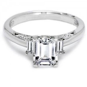 Tacori Platinum Simply Tacori Engagement Ring 2591EM7X5