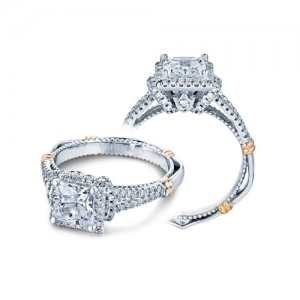 Verragio Parisian-117P Platinum Engagement Ring