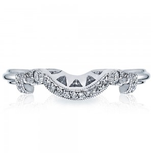 HT2299B Platinum Tacori Simply Tacori Diamond Wedding Ring