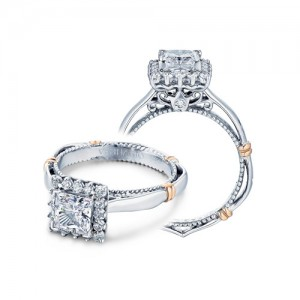 Verragio Parisian-112P Platinum Engagement Ring