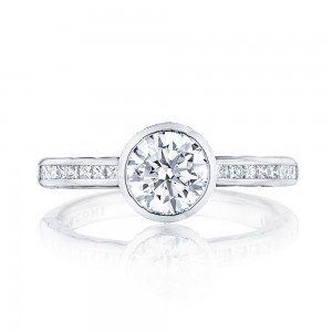 301-25RD65 Platinum Tacori Starlit Engagement Ring