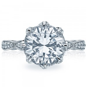 Tacori HT2604RD10 18 Karat RoyalT Engagement Ring