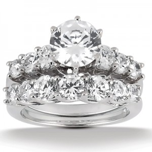 Taryn Collection Platinum Diamond Engagement Ring TQD A-748