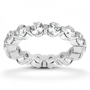 Taryn Collection Platinum Wedding/ Eternity Ring TQD 7 15 201