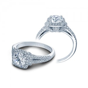Verragio Couture-0381CU Platinum Engagement Ring