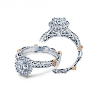 Verragio Parisian-119R 14 Karat Engagement Ring
