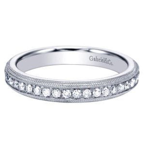 Gabriel 14 Karat Victorian Wedding Band WB7535W44JJ