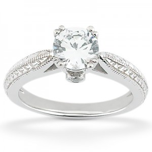 Taryn Collection 14 Karat Diamond Engagement Ring TQD 7198