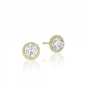 FE6706Y Tacori Bloom Diamond Earrings