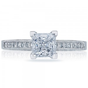 2576SMPR55 Platinum Simply Tacori Engagement Ring