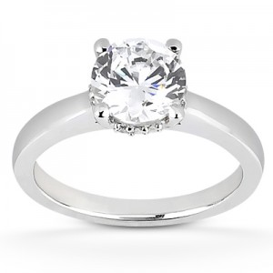 Taryn Collection 18 Karat Diamond Engagement Ring TQD 0448