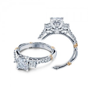 Verragio Parisian-124P Platinum Engagement Ring
