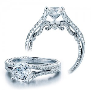 Verragio Platinum Insignia-7063 Engagement Ring