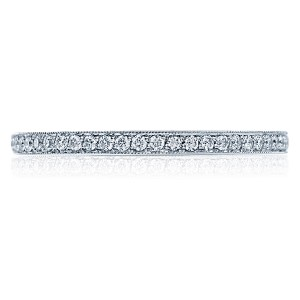 Tacori 2526ETML 18 Karat Ribbon Diamond Wedding Band