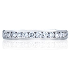2646-3B12 Platinum Tacori Dantela Diamond Wedding Ring