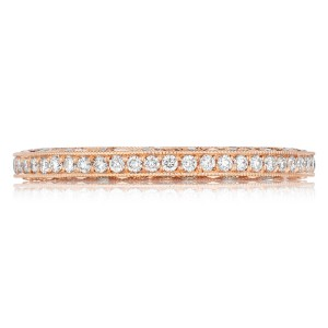 Tacori 2616BPK 18 Karat Pretty in Pink Diamond Wedding Band
