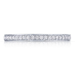 Tacori 2630BMDP34 18 Karat Dantela Diamond Wedding Band