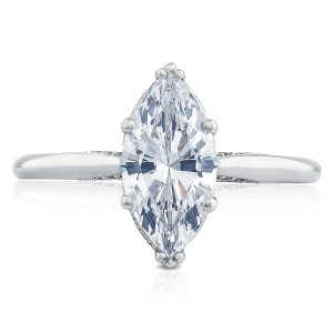 Tacori 2650MQ12X6 18 Karat Simply Tacori Engagement Ring
