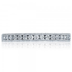 Tacori HT2521B12X 18 Karat Blooming Beauties Diamond Wedding Band