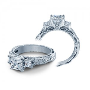 Verragio Venetian-5013P Platinum Engagement Ring