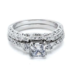 Tacori HT2258B Platinum Wedding Band