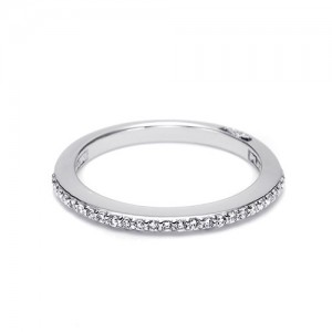 Tacori Platinum Simply Tacori Wedding Band 2630BSM12