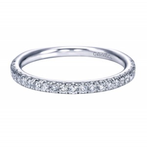 Gabriel Platinum Contemporary Wedding Band WB6623PT4JJ
