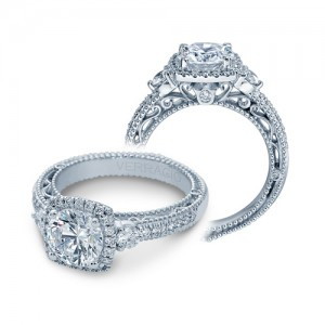 Verragio Venetian-5063CU Platinum Engagement Ring