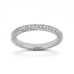 Eternity Diamond Band 14 Karat Taryn Collection TQD 6-1-184